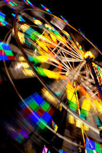 Ferris Wheel at Night von poi