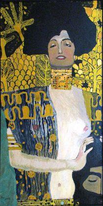 """Gustav Klimt """"Judith"""" von Katarzyna Wojcik"""