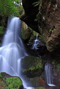 Wasserfall von Wolfgang Dufner