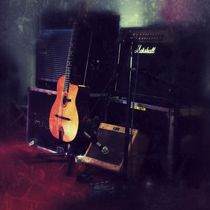 Guitar & Amps by Brian Webb