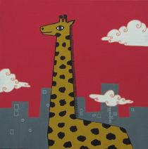 Urban Giraffe von María Maza