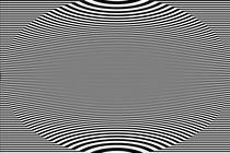 Reizüberflutung - Linien - Beule by Jens Berger