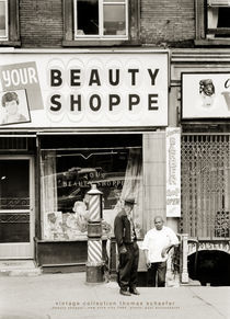 """Beauty shoppe"" New York 1964 von Thomas Schaefer"