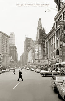 Broadway, New York City 1964 by Thomas Schaefer