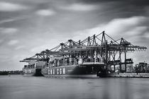 Burchardkai Hamburg by Stefan Kloeren