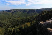 Blick ins Tal von Wolfgang Dufner