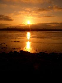 Abendsonne am Meer von Emanuel Lonz