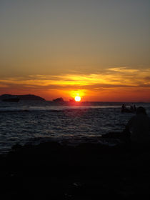 Sonnenuntergang Ibiza von Emanuel Lonz