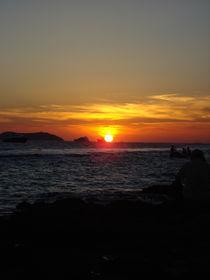 Sonnenuntergang Ibiza by Emanuel Lonz