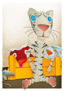 Tiger and friends von Marko Ausma