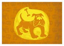 Brown Dog  von Marko Ausma