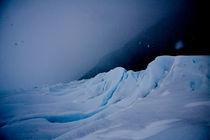 Snow storm @ Glaciar Perito Moreno (Argentina) von mahura