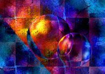 Farbenspiel mit Kugeln von Eckhard Röder
