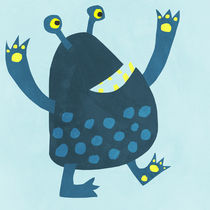 Little Monster Illustration von Nic Squirrell