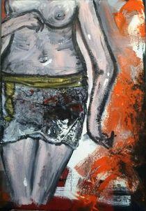 Girl im Minirock von Walli Gutmann