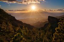 Views from Ifonche, Tenerife, Teneriffa von Raico Rosenberg