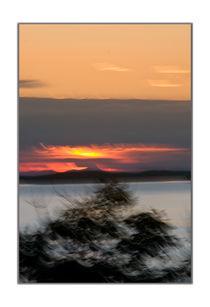Japanese sunset von Robert  Perks