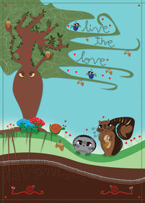 live the love forest by gabriela castro