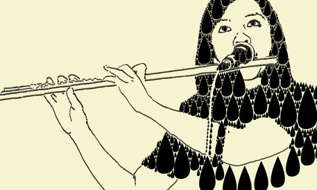 Flute-on-the-rainy-day
