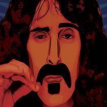 Frank Zappa by Melissa Reilly