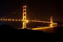 Golden Gate Bridge by Tanel Teemusk