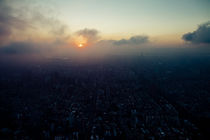 Taipei's sunset by Thomas Cristofoletti