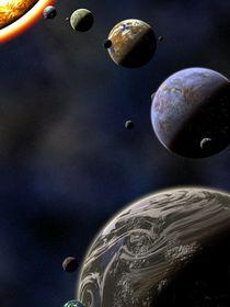 New Solar System Ver.2 von Michael Ordway