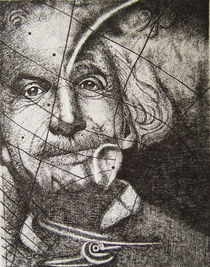 Albert Einstein by Damaride Marangelli