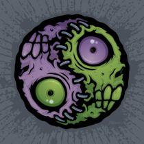 Zombie Yin-Yang von John Schwegel