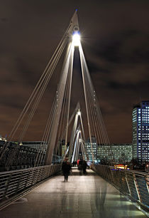 Golden Jubilee Bridge, London by Jan Lykke