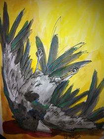 Dead crow von Izabelle Blåholtz