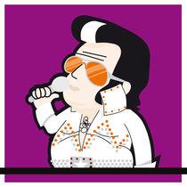 Elvis Presley by Ruiz Stinga