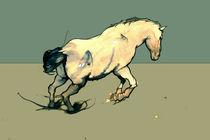 Jumping horse von Mikael Biström