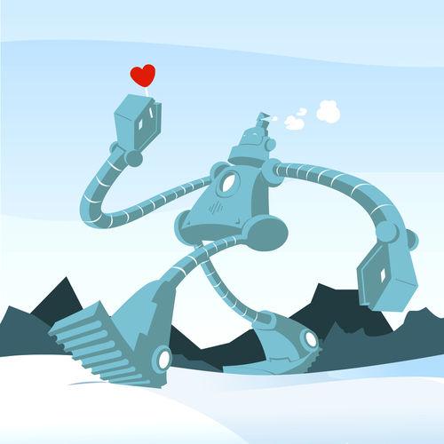 Robot-piruleta