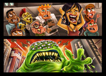 Monster Attack von Renan Lima