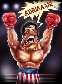 Rocky Balboa- Caricature von Renan Lima