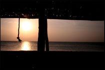 Atardecer Caribeño Wayuu (Caribbean Wayuu Sunset) by David Hernández-Palmar
