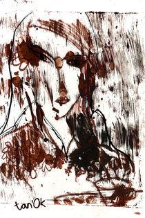 Girl with coffee von Tatiana Sevostyanikhina