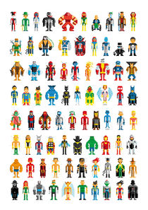 Pixel Heroes by pahito