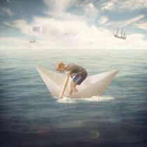 The Boy who Flew in a Boat by Michael Vincent  Manalo
