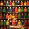 Colourful-jars-seen-at-a-restaurant-in-mumbai