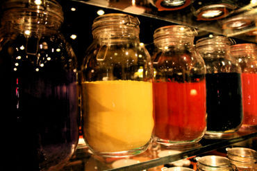 Colourful-jars-seen-at-a-restaurant-in-mumbai-1