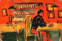 In cafe von Tatiana Sevostyanikhina