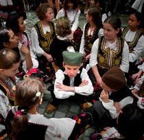 Boy in NATIONAL COSTUMES by Ivan Aleksic