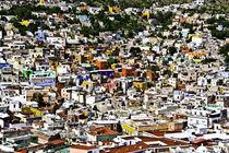 Pueblo de colores by Julio Guajardo