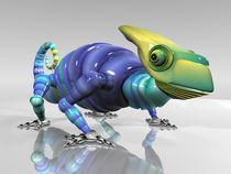 3D Robotic Chameleon by Marco Romero