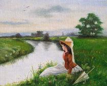 Ragazza al fiume by Damaride Marangelli