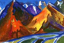 Himalayas by Tatiana Sevostyanikhina