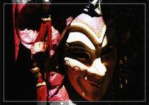 Venezianische Karnevalsmaske von Roland H. Palm