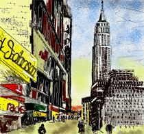 Empire State Building - New York by Elsa Neves